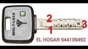 BOMBILLO MULTLOCK MT5+ BILBAO EL HOGAR