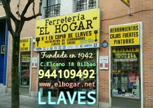 LLAVES BILBAO EL HOGAR